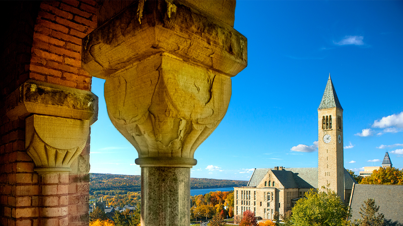 Image: Cornell Clock tower